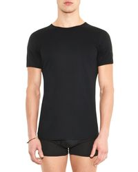 The White Briefs Black Earth Cotton T-Shirt for men