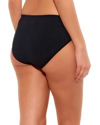 Hanro - Black Touch Feeling Midi Briefs - Lyst