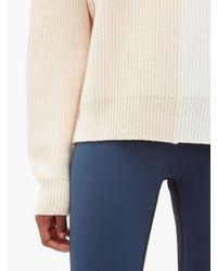 Vaara Eliza バイカラー ウールセーター Multicolor