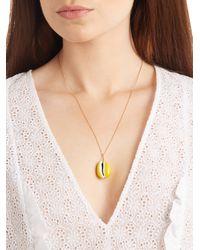 Aurelie Bidermann - Merco Shell & Yellow-gold Necklace - Lyst