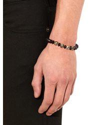 Luis Morais   Black Diamond, Wood And Yellow-gold Bracelet for Men   Lyst