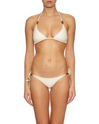 Heidi Klein - Natural Tahiti Tie-side Bikini Briefs - Lyst