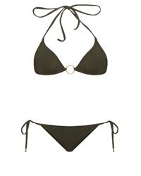 Melissa Odabash   Natural Miami Triangle Bikini   Lyst