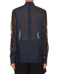 Thierry Colson | Black Peggy Polka-dot Print Blouse | Lyst