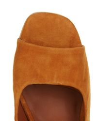 Rachel Comey Brown Kinzey Suede Block-heel Pumps