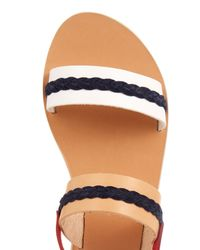 Ancient Greek Sandals - Natural Amphipolis Leather Sandals - Lyst