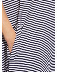 A.P.C. - Orange Tulum Striped Cotton-jersey Dress - Lyst