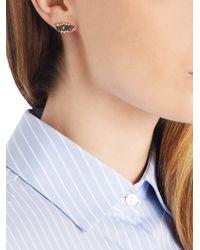 Diane Kordas - Pink Diamond & Rose-gold Wow! Earring - Lyst