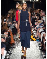 Sonia Rykiel - Blue Jupe Jersey Culottes - Lyst