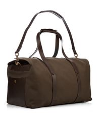Mismo - Brown M/s Supply Cotton-canvas Weekend Bag for Men - Lyst