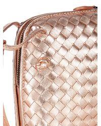 Bottega Veneta Multicolor Nodini Intrecciato Leather Cross-body Bag
