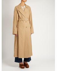 Rachel Comey - Multicolor Cotton-blend Trench Coat - Lyst