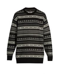 Alexander Wang | Multicolor Cut-out Back Wool And Cashmere-blend Sweater for Men | Lyst