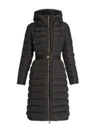 Moncler Black Imin Hooded Down Coat