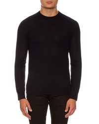 Givenchy - Black Cuban-fit Wool Sweater for Men - Lyst