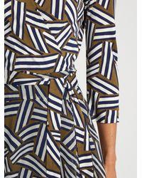 Diane von Furstenberg Multicolor Irina Dress