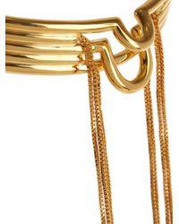 Eddie Borgo - Metallic Neo Tassel Gold-plated Choker - Lyst