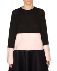 Marni - Black Open-back Cashmere Sweater - Lyst