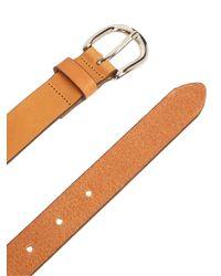 Étoile Isabel Marant - Natural Zap Thin Leather Belt - Lyst