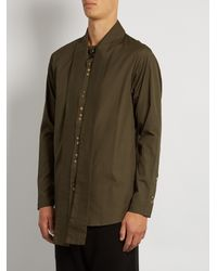 By Walid - Multicolor Cravat Tie-neck Cotton Shirt for Men - Lyst