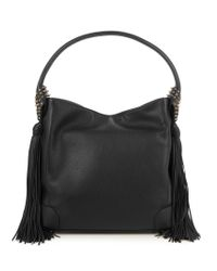 Christian Louboutin | Black Eloise Hobo Leather Shoulder Bag | Lyst