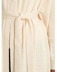 Tabula Rasa Natural Nur Merino-wool Long Cardigan