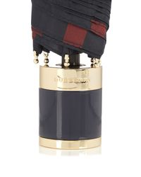 Burberry Prorsum Multicolor Trafalgar-check Collapsible Umbrella