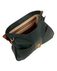 Chloé Green Lexa Large Leather Shoulder Bag