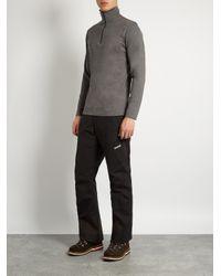 Mover - Gray Half-zip Merino-wool Base-layer Top for Men - Lyst
