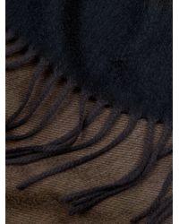 Begg & Co - Black Arran Ombré-effect Cashmere Scarf for Men - Lyst