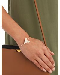 Jacquie Aiche - Metallic Diamond, Shark's-tooth & Yellow-gold Cuff - Lyst