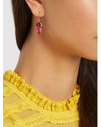 Irene Neuwirth - Multicolor Tourmaline & Rose-gold Earrings - Lyst