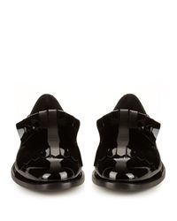 Max Mara Black Genie Loafers