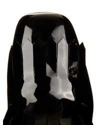 Max Mara Black Carol Leather Pumps