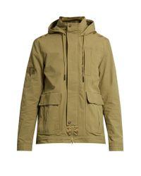 Adidas Originals Green Utility Nylon Jacket for men
