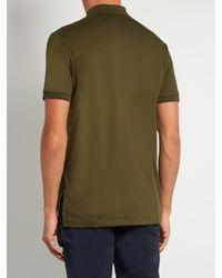 Polo Ralph Lauren Green Slim-fit Pima-cotton Polo Shirt for men