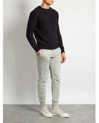 A.P.C. Blue Wallace Crew-neck Wool Sweater for men