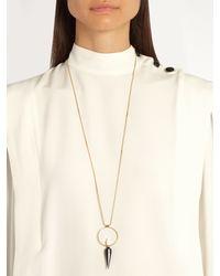 Isabel Marant - Metallic Justice Necklace - Lyst