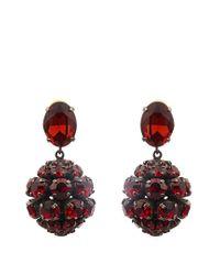 Marni - Multicolor Crystal Sphere-shaped Drop Earrings - Lyst