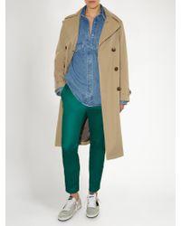 Golden Goose Deluxe Brand - Green Eastwind Slim-leg Track Pants - Lyst