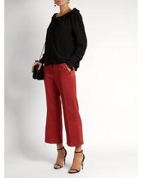 Nicholas Kirkwood Black Penelope Pearl-embellished Suede Sandals