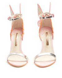 Sophia Webster - Multicolor Chiara Metallic Patent-leather Sandals - Lyst