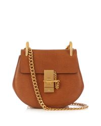 Chloé   Multicolor Drew Mini Leather Cross-body Bag   Lyst