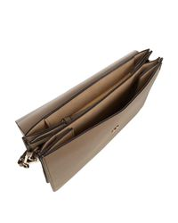 Chloé - Gray Faye Medium Suede And Leather Shoulder Bag - Lyst