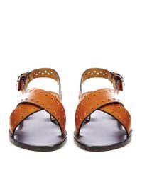 Isabel Marant - Multicolor Étoile Jerys Leather Sandals - Lyst