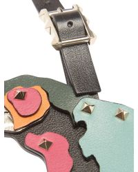 Valentino - Multicolor Tropical Dream Parrot Leather Key Ring - Lyst