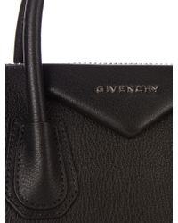 Givenchy Black Antigona Small Leather Tote