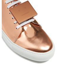 Acne Studios - Multicolor Adriana Leather Sneakers - Lyst