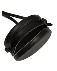 PB 0110 Black Ab38 Leather Cross-body Bag