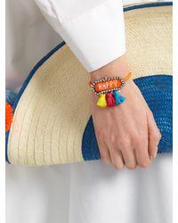Shourouk - Orange Hippie Athna Happy Bracelet - Lyst